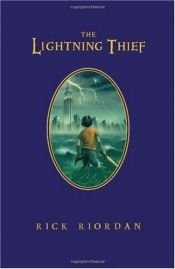 book cover of The Lightning Thief by Rick Riordan