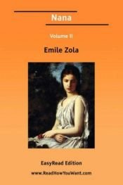 book cover of نانا by Emile Zola