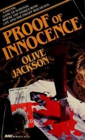 book cover of Proof of Innocence by Olive Jackson
