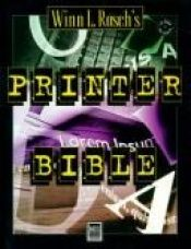 book cover of Winn L. Rosch's printer bible by Winn L. Rosch