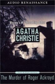 book cover of The Murder of Roger Ackroyd by Agatha Christie