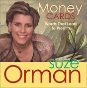 book cover of Money Cards: Words That Lead to Wealth by Suze Orman