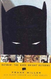 book cover of Batman: The Dark Knight Returns by Frank Miller