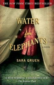 book cover of Vann til elefantene by Sara Gruen