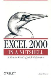 book cover of Excel 2000 in a Nutshell (In a Nutshell (O'Reilly)) by Jinjer Simon