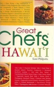 book cover of Great Chefs of Hawaii by Kaui Philpotts