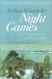 book cover of Night Games and Other Stories and Novellas by Arthur Schnitzler