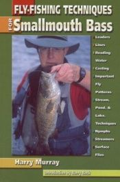 book cover of Fly fishing for smallmouth bass by Harry Murray