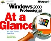 book cover of Microsoft Windows 2000 Professional at a Glance (Eu-at a Glance) by Jerry Joyce