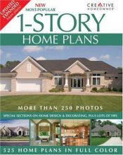 book cover of New Most-Popular 1-Story Home Plans (Lowe's) by Editors of Creative Homeowner
