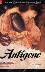 book cover of Antigone by Sophokles