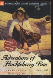 book cover of Adventures of Huckleberry Finn by Mark Twain