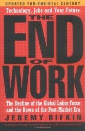 book cover of The End of Work by Jérémy Rifkin