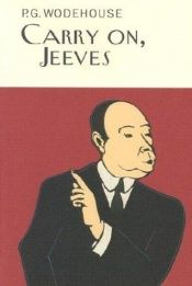 book cover of Carry On, Jeeves by P. G. Wodehouse