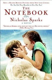 book cover of The Notebook by Nicholas Sparks