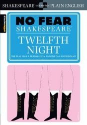 book cover of Twelfth Night (SparkNotes No Fear Shakespeare) by William Shakespeare