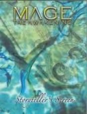 book cover of Mage The Awakening: Storyteller's Screen (Mage) by