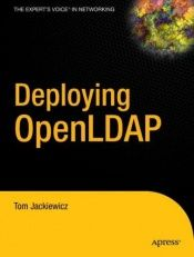 book cover of Deploying OpenLDAP by Tom Jackiewicz
