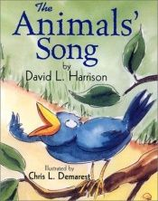 book cover of The animals' song by David L. Harrison