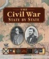 book cover of The Civil War, state by state by Paul. Brewer