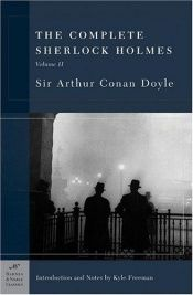 book cover of The Complete Sherlock Holmes by Arthur Conan Doyle
