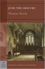 book cover of Jude the Obscure by Thomas Hardy