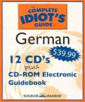 book cover of The Complete Idiot's Guide to German by author not known to readgeek yet