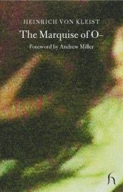 book cover of The Marquise of O by Heinrich von Kleist