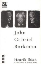book cover of John Gabriel Borkman by Henrik Ibsen