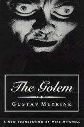 book cover of The Golem by Gustav Meyrink