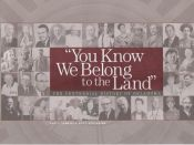 book cover of You know we belong to the land : the centennial history of Oklahoma by Paul F. Lambert