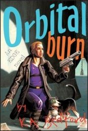 book cover of Orbital burn by K. A. Bedford