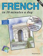 book cover of FRENCH in 10 minutes a day® with CD-ROM by Kristine Kershul