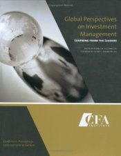 book cover of Global Perspectives on Investment Management: Learning from the Leaders by [multiple authors]