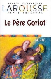 book cover of Le Père Goriot by Honoré de Balzac