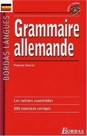 book cover of Grammaire Allemande by author not known to readgeek yet