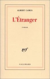 book cover of L'Étranger by Albert Camus
