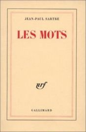 book cover of Les Mots by Jean-Paul Sartre