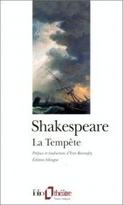 book cover of La Tempête by William Shakespeare