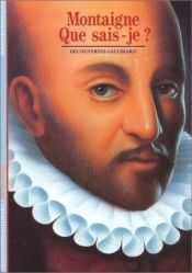 "book cover of Montaigne: ""que sais-je?"" (Litterature) by Jean-Yves Pouilloux"