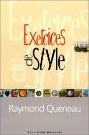 book cover of Exercices de style by Raymond Queneau