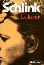 book cover of Le Liseur by Bernhard Schlink