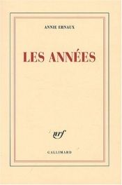 book cover of Les années by Annie Ernaux