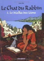 book cover of Kot rabina t.2 Malka lwi krol by Joann Sfar