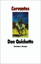 book cover of Don Quichotte by Miguel de Cervantes Saavedra