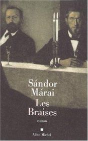 book cover of Les Braises by Sándor Márai