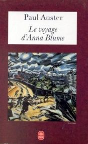 book cover of Le Voyage d'Anna Blume by Paul Auster