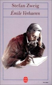 book cover of Emile Verhaeren : Sa vie, son oeuvre by Stefan Zweig