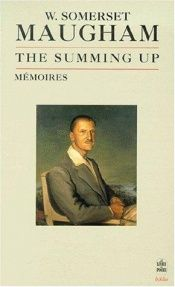 book cover of The Summing up by William Somerset Maugham