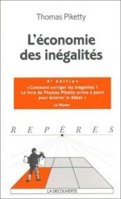 book cover of Economie des inégalités by Thomas Piketty